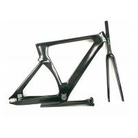 Buy cheap Matte / Shiny 1400G 700C Carbon Track Bike Frame Aero Type T700 UD Weave from Wholesalers