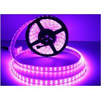 Buy cheap Flexible LED Strip Light 5050 RGB DC12V / DC24V Double Line 28.8W/M Power from wholesalers