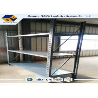 Quality SGS Cold Rolled Steel Rivet Boltless Shelving 500 - 5000 Kg Per Layer wholesale