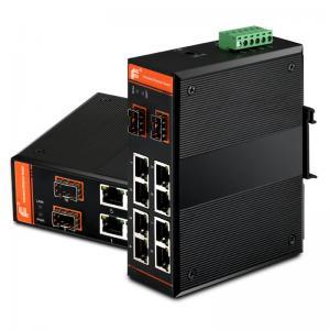 Buy cheap Gigabit Ethernet PoE Switch Unmanaged 8x10/100Base-TX + 2x1000Base-FX SFP / 8xPoE from wholesalers