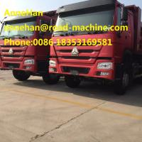 Diesel Heavy Duty Dump Truck Driver Payload 30 Tons 10 Wheels Hyva Hydraulic Front Lifting