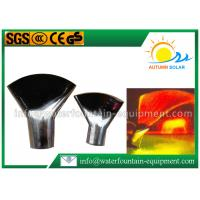 Buy cheap Stainless Steel Fountain Nozzles Flat Fan Fountain Nozzle 30-80kpa Pressure from Wholesalers