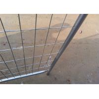 Buy cheap Anti Aging Portable Interlocking Fence Panels Temporary Fence Panels For Rent from Wholesalers