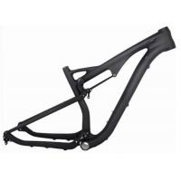 Quality Toray 700 29 Mtb Full Suspension Frame , Carbon Fiber Bicycle Frame For Cycling Race for sale