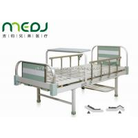 Buy cheap MJSD05-08 Manual Hospital Bed , Two Cranks Adjustable Hospital Beds With Dinning Table from Wholesalers