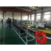 Buy cheap HDPE Pipe Extrusion Line / Extruder Machine Vacuum Forming With 40mm-110mm Dia from wholesalers