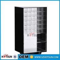 Buy cheap Wholesale Competive Price acrylic Black Spinning Makeup Organizer from Wholesalers