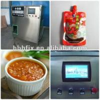 stainless steel  Automatic tomato sauce /paste with standing up pouch filling sealing capping packing machine
