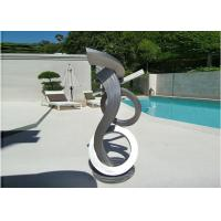 Buy cheap Brushed Craft Stainless Steel Sculpture Art Home Decoration Swimming Pool Garden from wholesalers
