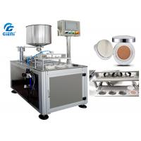 Buy cheap Four Nozzles Cosmetic Filling Machine SUS304 For Air Cushion / CC Cream from Wholesalers