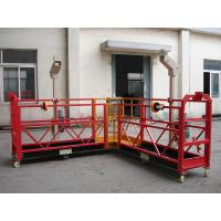 Buy cheap Customized 90 degree Red Suspended Working Platform for the Chimney Wall Painting from Wholesalers