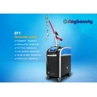 Quality 532nm 1064nm 755nm Picosecond Laser Tattoo Removal Equipment With Korea Arm wholesale