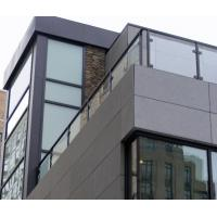Buy cheap Balcony Stainless Steel And Glass Railing Systems Casting Handrail Balustrade from wholesalers