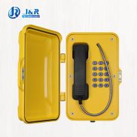 Buy cheap Heavy Duty IP67 weather resistant telephone for Railway Tunnel , Marine from Wholesalers
