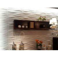 Buy cheap Indoor Wall Panels 3D Decorative Wall Panels 3d Wave Board for KTV / Bar Background from Wholesalers