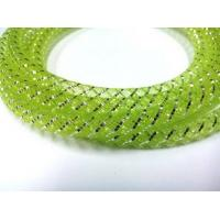 Buy cheap Green Braided Nylon Mesh Sleeve For Cable Protection , Expandable Mesh Tube from Wholesalers