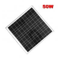 China 50W mono cheap price per watt solar panels in china with high quality on sale