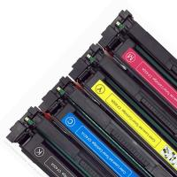Buy cheap 202A CF500A Printer Toner Cartridge Compatible For HP Color Lasejet Pro M254 M280 M281 from Wholesalers