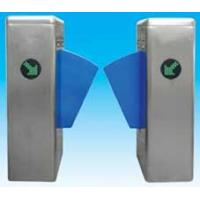 Buy cheap Flap barrier 304 stainless steel security gate barrier with in-built alarm system from Wholesalers
