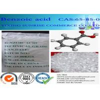 Buy cheap White Mercerized Flake Benzoic Acid Food Additive CAS 65-85-0 C6H5COOH from Wholesalers