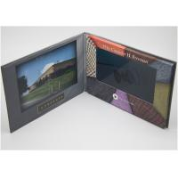 Quality Business Gifts Lcd Greeting Card / Promotional Video Mailer Card Cmyk Printing wholesale