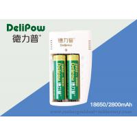 China Rechargeable 18650 Lithium Batteries 2800mah With Customized Capacity on sale
