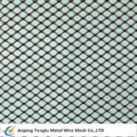 Buy cheap Expanded Metal Square Mesh |Sheet size 1,25x2,5m from wholesalers