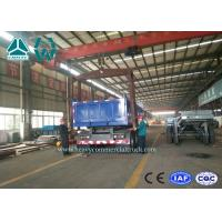Buy cheap 3 Axles Cylinder End Tipper Semi Trailer / Side Dump Semi Trailer With 35T Payload from Wholesalers
