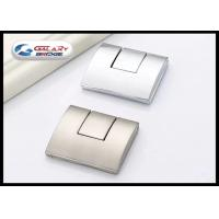 Buy cheap Embed Kitchen Cabinet Concealed Drawer Pulls Door Handles Square GLI6023 For Wardrobe from wholesalers