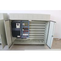 Quality IP55 Schneider Gray Or Black End Carriage Control Panel Of 0.75kw-30kw Inverter Capacity wholesale