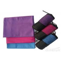 Buy cheap Personalized Swim Towels , Pink Microfiber Towel For Camping  from Wholesalers