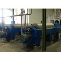 Buy cheap High Efficiency Horizontal Decanter Centrifuge PVC Sludge Used 220V / 380V from Wholesalers