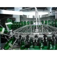 Buy cheap Fully Automatic Glass Bottle Beer Bottle Filling Machine With 1000BPH-24000BPH from Wholesalers