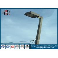 Quality Anti Corrosive High Mast Steel Street Lighting Pole for Square / stadium wholesale