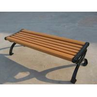 China Anti - Acid And Alkali Wood Plastic Composite Bench With Moisture Resistant on sale