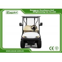 Buy cheap 6 Seater Tourist Use Used Electric Golf Carts / Electric Sightseeing Bus Trojan from wholesalers