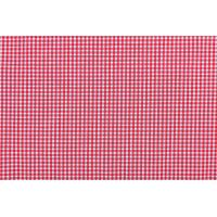 86% Cotton Natural Fabric Red Checkered Tablecloth , Full Sizes Picnic Checkered Tablecloth