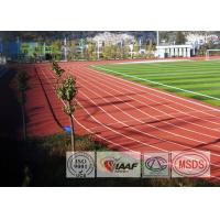 Buy cheap Outdoor Sport Polyurethane Track Surface , Rubber Track And Field Spike Resistant from wholesalers