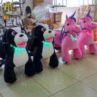 Hansel coin operated video game machines life like play animals for kids walking stuffed animals bike kiddie ride on car