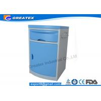 Buy cheap ABS Movable Hospital Furniture Bedside Table Hospital Bedside Cabinet  CE Approved from Wholesalers