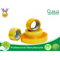 Buy cheap Hot Melt Transparent BOPP Packing Tape For Carton Sealing Environmental Protection from Wholesalers
