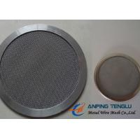 Buy cheap Round Shape Filter Disc, Mainly With Stainless Steel Mesh, 10mm-1.2m Size from wholesalers