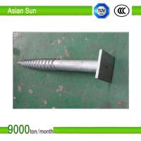 Buy cheap Galvanized Steel Ground Screw for solar mounting system from Wholesalers