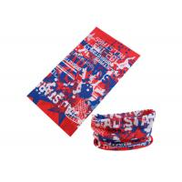 Quality UV Buff Headwear Red Blue Color With Size 25*50 CM Polyester Scarf wholesale