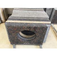Hard Solid Natural Granite Vanity Tops High Density 2.8 G / Cm3 For Hotel Bathroom