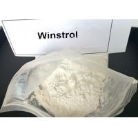 Buy cheap Legal Winstrol Stanozolol Weight Loss Steroids / Fat Burner Powder For Men 10418-03-8 from Wholesalers