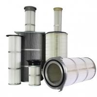 Buy cheap Dust Collector Industrial Air Filter Cartridge Waterproofing Finishing Treatment from Wholesalers