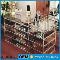 Buy cheap Acrylic cosmetic makeup organizer/ makeup brush display/ makeup brush holder from Wholesalers