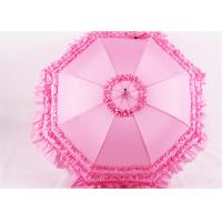 Buy cheap Straight Wedding umbrellas for bridesmaids cosplay lace Princess from wholesalers