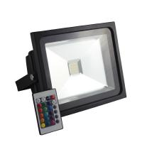 Quality Die-cast Aluminum IP65 20W Christmas Color Changing RGB Outdoor Led Flood Light wholesale